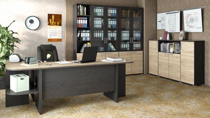 Письменный стол Успех-2 (1600) ПМ-184.04