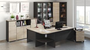 Угловой письменный стол Успех-2 ПМ-184.05