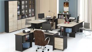 Угловой письменный стол Успех-2 ПМ-184.06