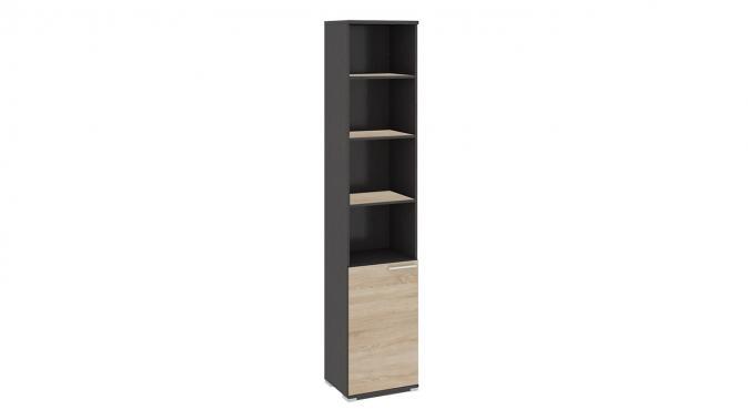 Шкаф для документов с нишей и 1-й дверью «Успех-2» ПМ-184.15