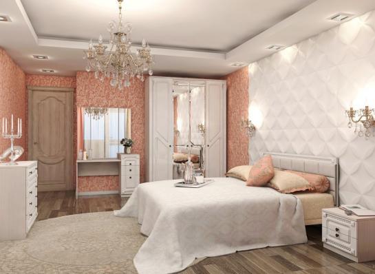 Кровать 1,6м Азалия 16ПМ