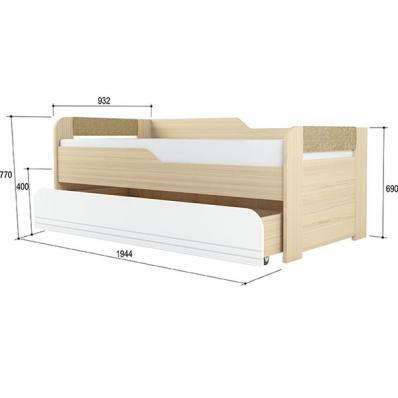 Кровать двухуровневая Стиль 900.1