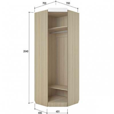 Шкаф угловой Стиль 3