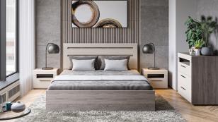 Кровать с подъемным механизмом Фьюжн