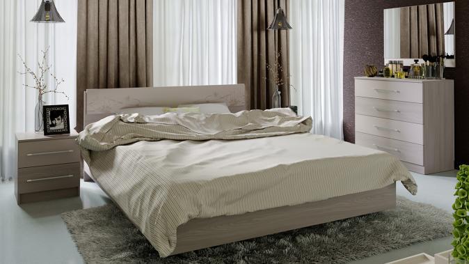 Двуспальная кровать  Мишель 1600