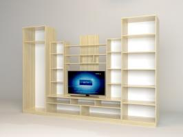 Шкаф для одежды «Багира»