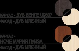 венге/млечный (С зеркалом)