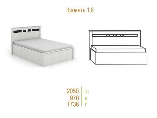 Кровать «Николь» с подъемн.мех
