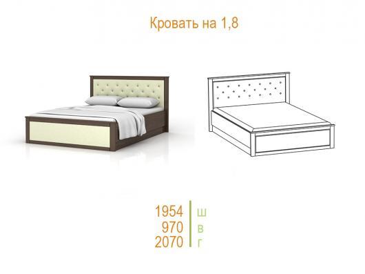 Кровать «Инфинити» с подъем. мех