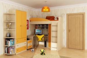 Шкаф-комод + угловой пристрой «Мальта»
