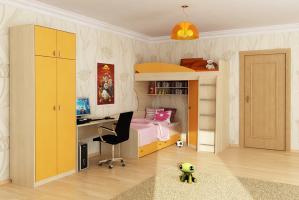 Шкаф с антресолью «Мальта»