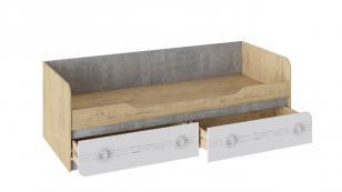 Кровать с 2 ящиками Мегаполис ТД-315.12.01