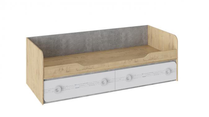 Кровать с 2 ящиками «Мегаполис» ТД-315.12.01