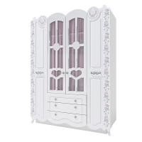 Шкаф 4-х створчатый «Розалия» №24