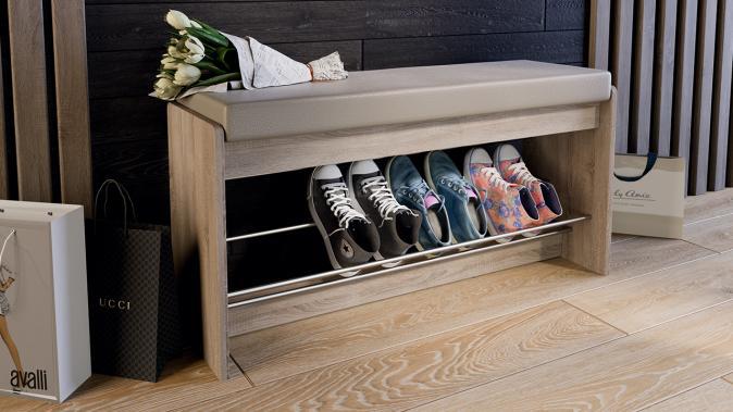 Тумба для обуви «Тайм» тип 2