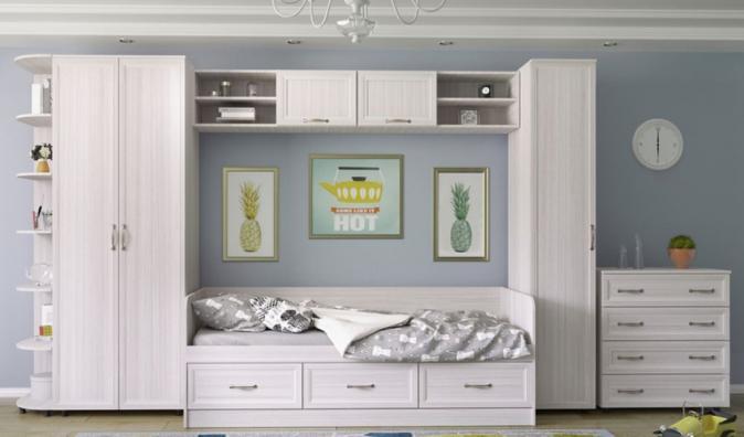 Кровать с 3 ящиками Гармония