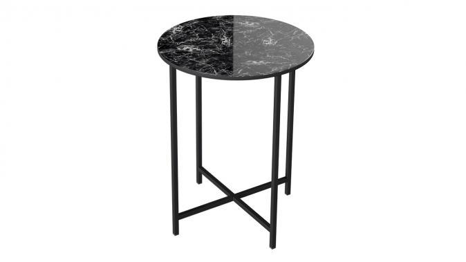 Стол со стеклянной поверхностью ДП 1-03-04 (журнальный)