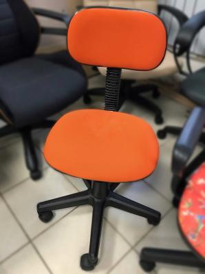 Кресло Эрго б/п D26-29 (оранжевый)